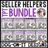 TPT Seller Feedback Page Inserts and TPT Store Bundle