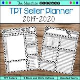 TPT Seller Planner 2018-2019
