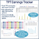 TPT Seller Data Analysis & Planner - Editable Excel Files