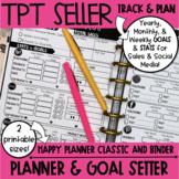TPT Seller Planner, Goal Setter, & Goal Tracker