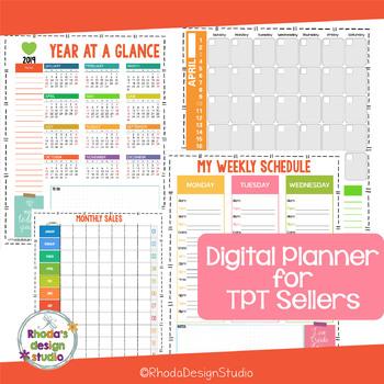 TPT Seller Planner and Blogging Binder Printable