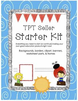 TPT Seller Starter Kit