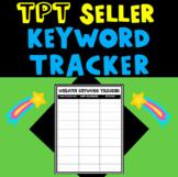 TPT Seller Website and Blog Post Keyword Tracker Printable