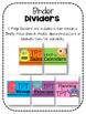 TPT Seller's Binder: Monster Theme