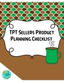 TPT Sellers Checklist