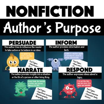 Author's Purpose Activity