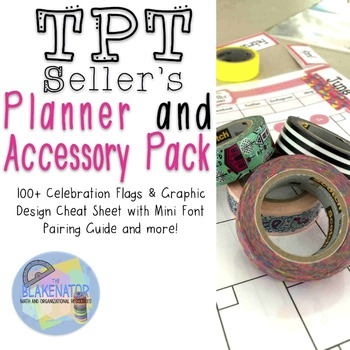 TPT Seller's Planner