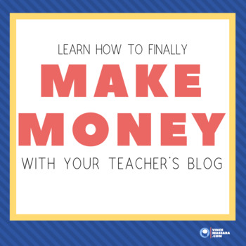 TPT Sellers, create a profitable blog by blogging with a purpose
