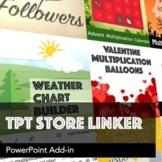 TPT Store Linker - PowerPoint Add-in