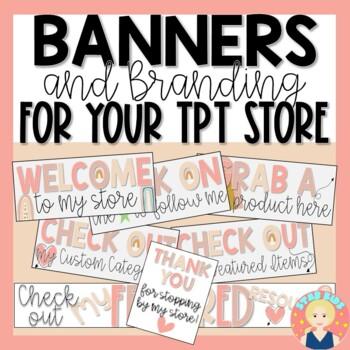 TPT Store Rotating Animated Quote Box |   Boho Rainbow Themed