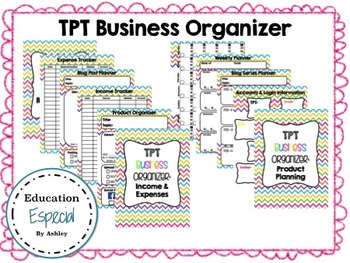 TPT & Teacher Business Organizer