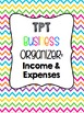 TPT & Teacher Business Organizer