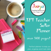 TPT Teacher Seller Planner