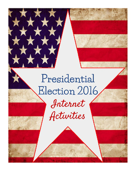 Presidential Election 2016 Internet Activities, Google Docs/Drawings - EDITABLE