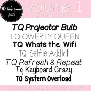 TQ Fonts: Volume One
