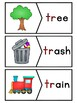 TR Blends Phonics Center:  Picture and Word Match Puzzles