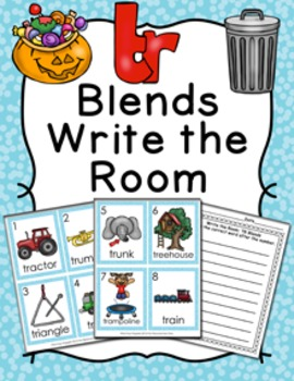 TR Blends Write the Room Activity