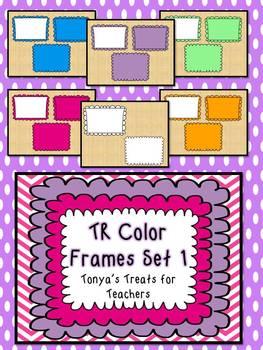 TR Color Frames Set 1
