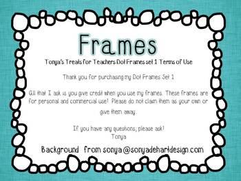 TR DOT Frame Set 1