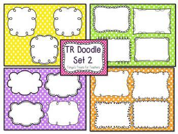 TR Doodle Frame Set 2