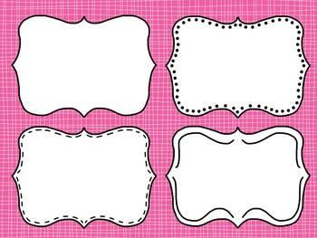 TR Doodle Frame Set 3