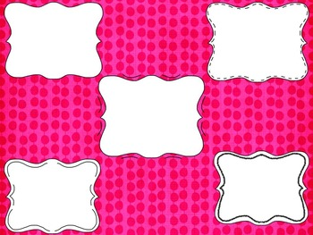 TR Doodle Frame Set 7