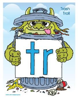 TR (Trash Troll) Blend Buddy Poster