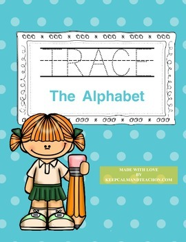 TRACE And Write The Alphabet (ABC Handwriting Practice)