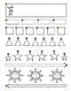 TRACE Fine Motor Skills Pre- Write Worksheet Homework SHAPES Patterns