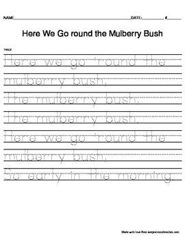TRACE Nursery Rhymes (Set 2)