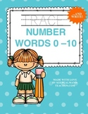 TRACE & WRITE Number Words