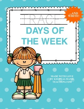 TRACE & WRITE The Days of The Week