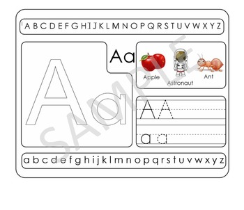 TRACING ABC ENGLISH AND SPANISH