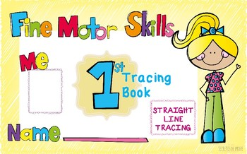 TRACING BOOK Straight Line Tracing Book