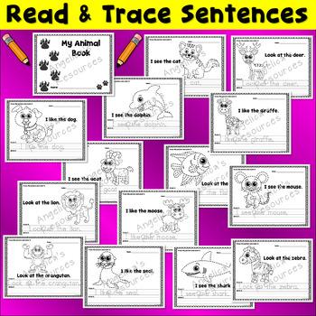 TRACING BUNDLE: Sight Words, Sentences, Tracing, Fluency, Math Shapes, Alphabet