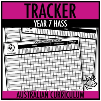TRACKER | AUSTRALIAN CURRICULUM | YEAR 7 HASS