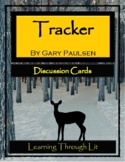 TRACKER Gary Paulsen - Discussion Cards PRINTABLE & SHAREABLE