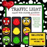 TRAFFIC LIGHT POSTER PRE-K AUTISM BEHAVIORS EMOTIONS