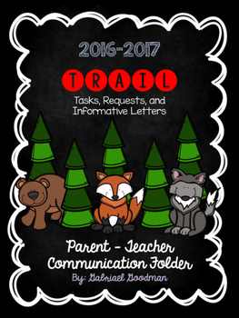TRAIL Parent Communication Folder