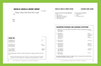 "TRAIN Activity | ""Chug-a Chug-a Choo Choo"" Line Game | Complete Poem Package"