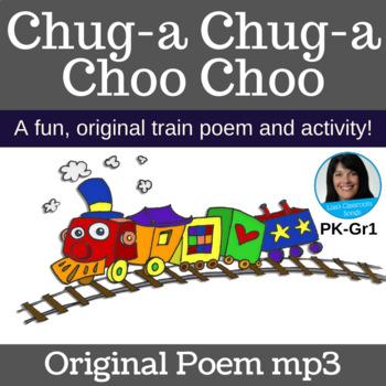 "TRAIN Activity | ""Chug-a Chug-a Choo Choo"" Line Game | Poem mp3"
