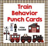 TRAIN Theme Behavior Punch Cards - Regular Ed, Special Ed