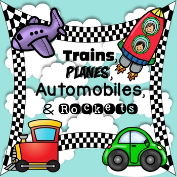 TRAINS, PLANES, AUTOMOBILES & ROCKETS {EDITABLE NAMEPLATES AND LABELS}