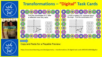 "TRANSFORMATIONS: ""DIGITAL"" BOOM CARDS (20 TASK CARDS)"