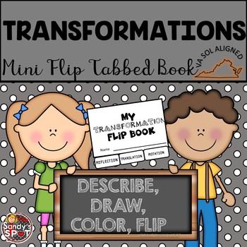 TRANSFORMATIONS Mini Flip Book Tabbed