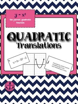 TRANSFORMATIONS - Quadratic Translations