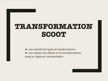 TRANSFORMATIONS SCOOT
