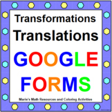 TRANSFORMATIONS (TRANSLATIONS): GOOGLE FORMS QUIZ (PROB. 2