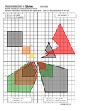 TRANSFORMATIONS on the COORDINATE PLANE - TRANSLATIONS, RO