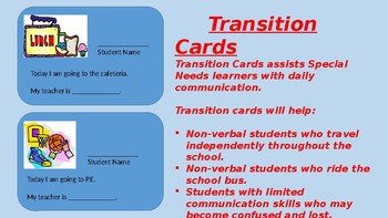 TRANSITION CARDS